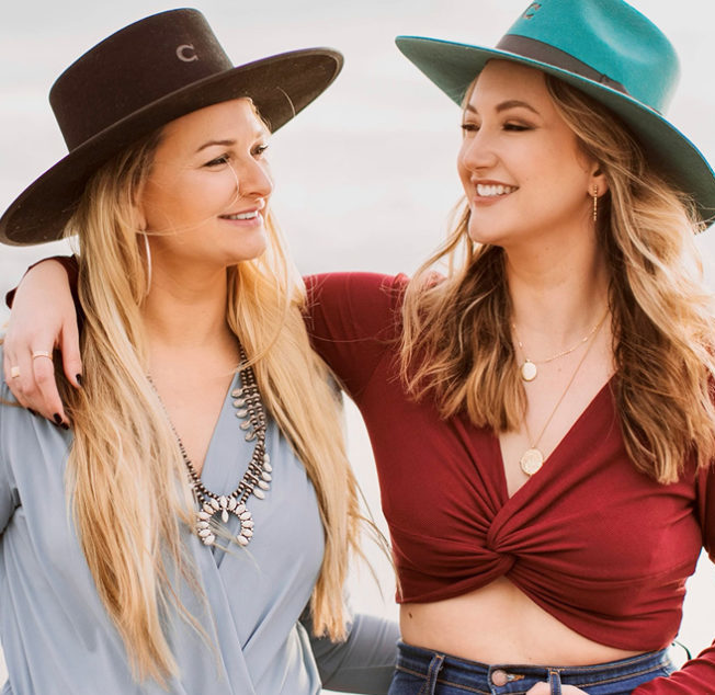 """Abby Leigh and Brittany Rose of """"Off The Record"""""""